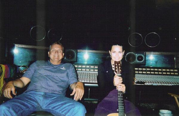Randy Willis at Willie Nelson's Pedernales Recording Studio, Spicewood, Texas