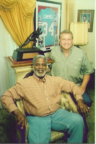 Randy Willis and Earl Campbell