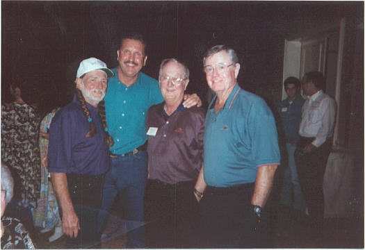 Willie Nelson, Randy Willis, Darrell Royal