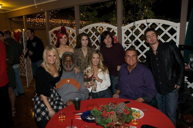 Randy Willis's Christmas Party. Kendall Beard, Earl Campbell, Randy Willis, AJ Vallejo